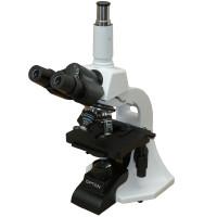 Microscópio Biológico Trinocular com Aumento 40x Até 1000x, Objetivas Semi Planacromáticas e Iluminação 3w LED